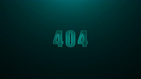 erreur : Letters of 404 text on background with top light, 3d render background, computer generating for game