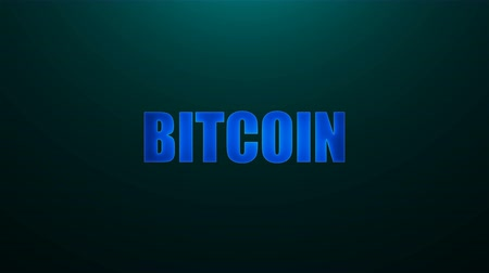 bitcoin accepted : Letters of Bitcoin text on background with top light, 3d rendering background, computer generating for news