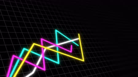 stock raising : Some graphs in space with grid for demonstrating business development and revenue, 3d render background