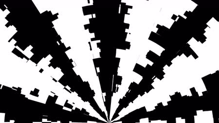 cikkcakk : Black and white stripes. Computer generated abstract background, 3D rendering backdrop