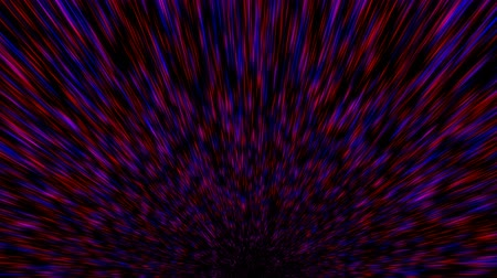 bilinmeyen : Time warp, traveling into dark unknown space, 3d rendering computer generated background Stok Video