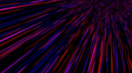unknown : Time warp, traveling into dark unknown space, 3d rendering computer generated background Stock Footage