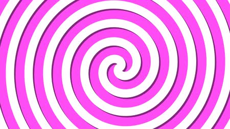 oválný : Abstract spiral rotating and twisting lines, computer generated background, 3D rendering background, cartoon style