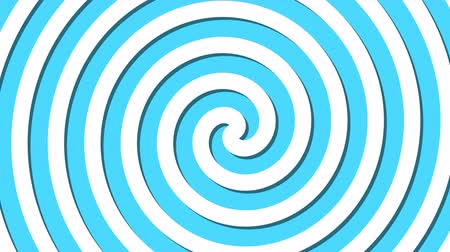 fluido : Abstract spiral rotating and twisting lines, computer generated background, 3D rendering background, cartoon style