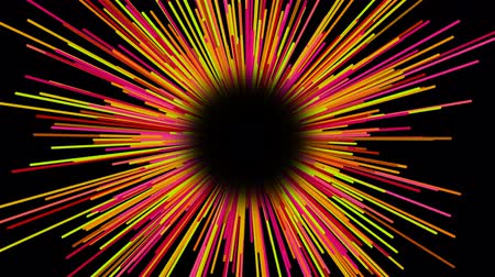 cákanec : Starburst dynamic lines or rays in space, funny cartoon style, bright 3d rendering computer generated background