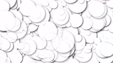 штифт : Many white chaotic round particles, computer generated abstract background, 3D rendering background