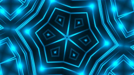 yaymak : Abstract blue fractal lights, 3d rendering backdrop, computer generating background