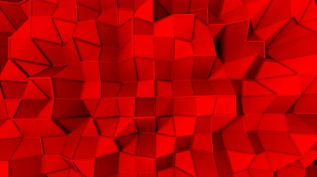 facets : Simple low polygonal surface with edges, computer generated modern abstract background, 3d rendering