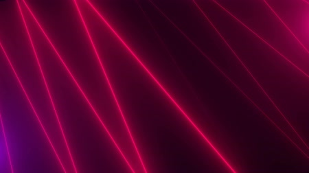 parlaklık : Neon zig zag shiny lines are in space, abstract computer generated backdrop, 3D rendering background