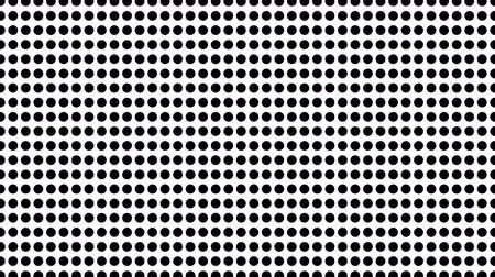 doğrusal : Half tone of many dots, computer generated abstract background, 3D rendering simple backdrop with optical illusion effect