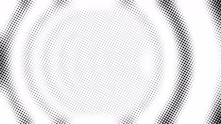 doted : Half tone of many dots, computer generated abstract background, 3D rendering simple backdrop with optical illusion effect