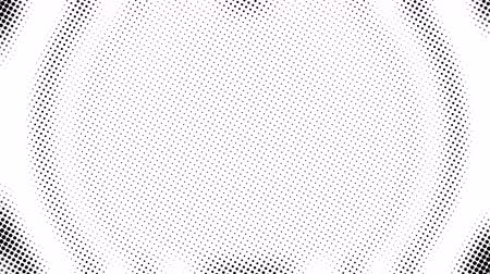 sinal : Half tone of many dots, computer generated abstract background, 3D rendering simple backdrop with optical illusion effect