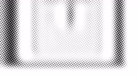 pontilhado : Half tone of many dots, computer generated abstract background, 3D rendering simple backdrop with optical illusion effect