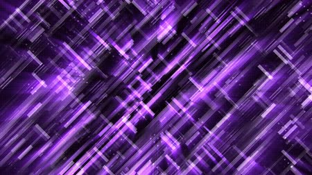 négyszögletes : Abstract glow digital in dark - abstraction of data communication, computer generated background, 3D rendering Stock mozgókép