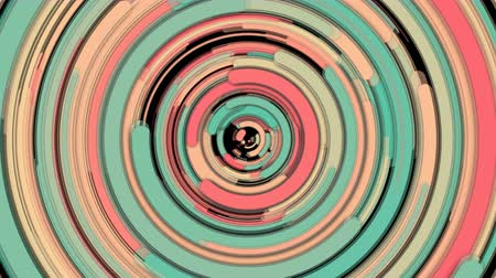 whirling : Abstract spiral bright rotating and twisting lines, computer generated background, 3d rendering backdrop Stock Footage