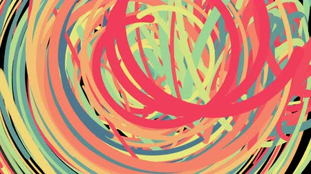 sakk : Abstract chaotic fast colorful lines, computer generated background, 3d rendering backdrop