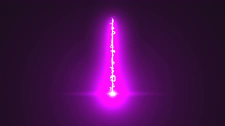 fogyókúra : Abstract laser beam with electricity effect, 3d rendering background, lighting effect, floodlight directional Stock mozgókép