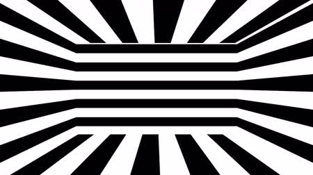 geometryczne : Black and white stripes. Computer generated abstract background, 3D rendering backdrop