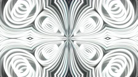 тон : Abstract beautiful kaleidoscope background with glow lines like petals, 3d rendering computer generated backdrop
