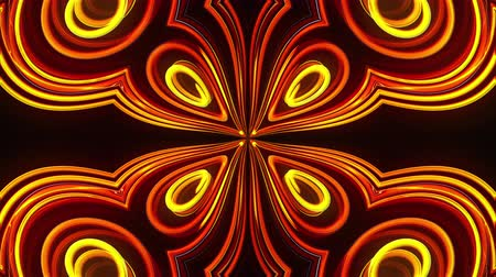 zvětšit : Abstract beautiful kaleidoscope background with glow lines like petals, 3d rendering computer generated backdrop