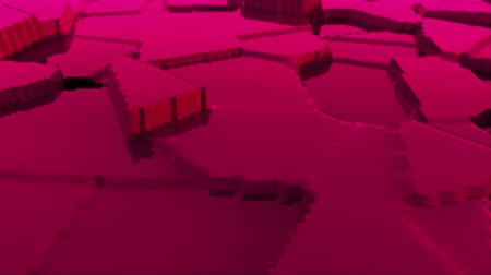 топография : Abstract stylized terrain modern 3d surface model, 3d rendering backdrop, computer generating background