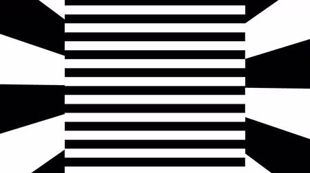narożnik : Black and white stripes. Computer generated abstract background, 3D rendering backdrop