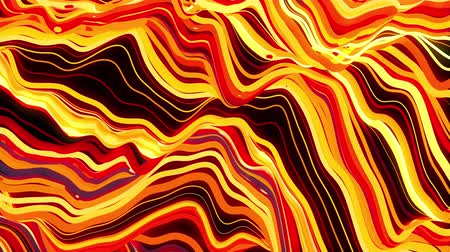 seethe : Waves of numerous abstract colored stripes computer generated background. 3d rendering