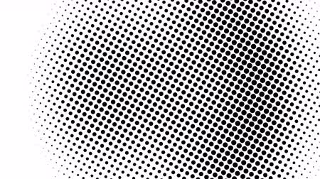 impressão digital : Half tone of many dots, computer generated abstract background, 3D rendering simple backdrop with optical illusion effect