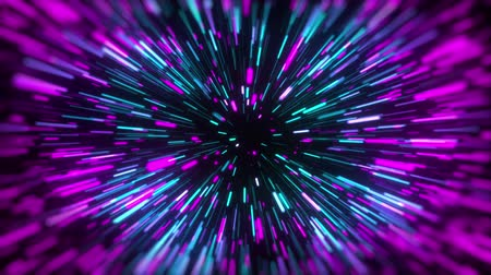 another : 3d rendering movement through stars. Hyper jump into another galaxy. Neon glowing rays in motion. Computer generated abstract modern cosmic background