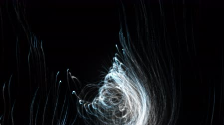 путаница : 3d rendering of abstract backdrop from trails of particles. Computer generated chaotic drawing of lines and curls