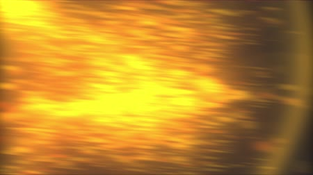 luminosity : Abstract backdrop with golden blur from small particles and light. 3d rendering computer generated golden bokeh Stock Footage