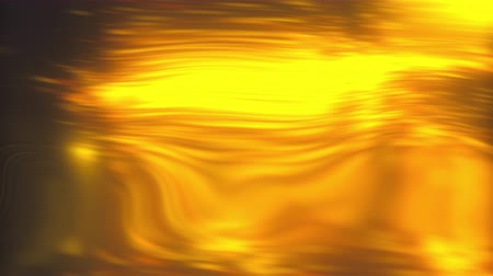 vago : Abstract backdrop with turbulence golden liquid. 3d rendering computer generated golden bokeh