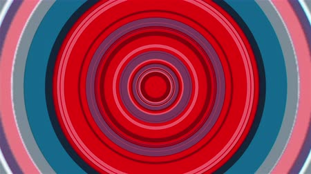aproximação : Colorful round tunnel with radial stripes, computer generated. 3d rendering of abstract transition backdrop