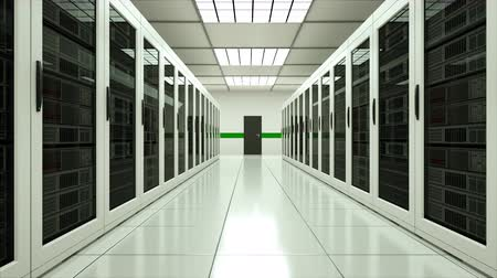 поставщик : Modern server room interior in datacenter, web network and internet telecommunication technology, big data storage and cloud service concept, 3d rendering