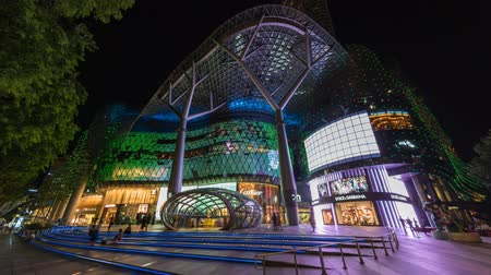 ion : Time lapse at Orchard road, Singapore Stock Footage