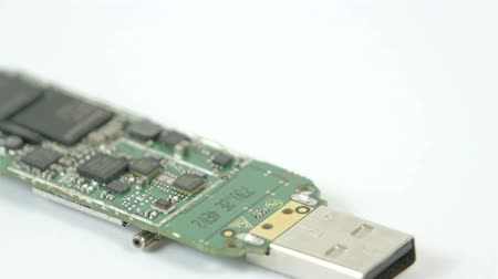 chipset : A USB chip with small chipset on it. It is the inside look of the USB