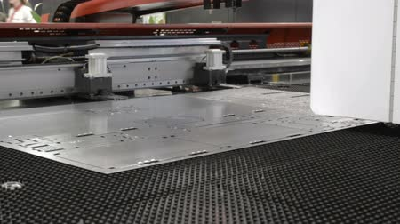 perforation : The work of CNC punching machine.