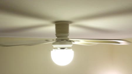 homeopático : A typical household ceiling fan in motion.