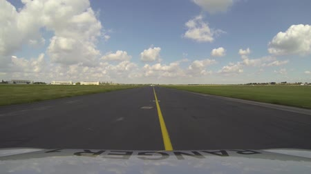 civilní : A view of a taxiway at one of the UKs largest growing airports.
