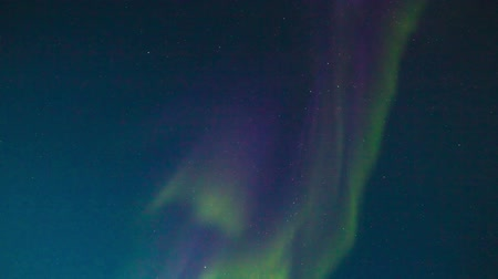 atividades : Northern lights on night sky