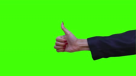 good hand simulation with green screen