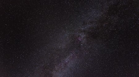 spaces : stars and galaxy time-lapse with clouds