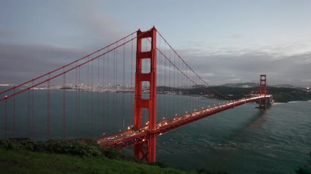 mosty : Golden Gate Bridge at Sunset