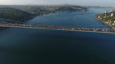 mosty : istanbul aerial bosphorus bridge crossing
