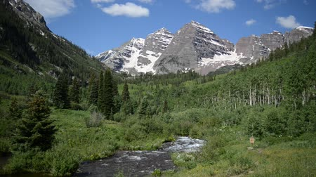 ribeiro : Maroon Bells, Elk Range near Aspen, Rocky Mountains, Colorado