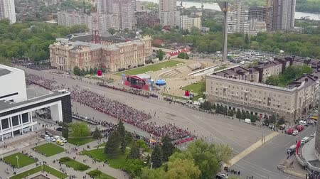 jubileu : The procession of people on May 9 on the day of victory. Immortal regiment