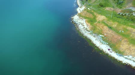 dalgakıran : The shore of the Kerch Strait. Sea of Azov and shore.