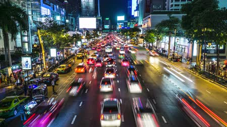 confiture : Night Traffic, Ratchaprasong, Bangkok