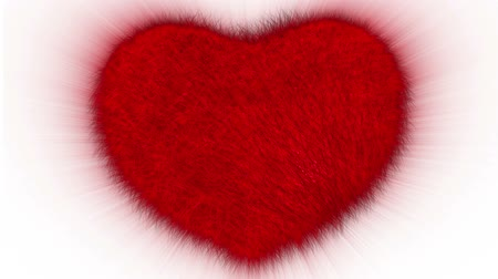 kürklü : Red furry comic heartbeat.