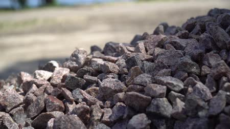 fazla : Granite gravel heap, Small pebble. A lot of small stones.